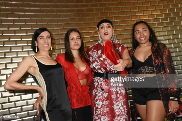 Blanca Li Hiba Abouk Rossy de Palma and Luna Mary attend the Jean Paul Gaultier Haute Couture Fall/Winter 20172018 show as part of Haute Couture...