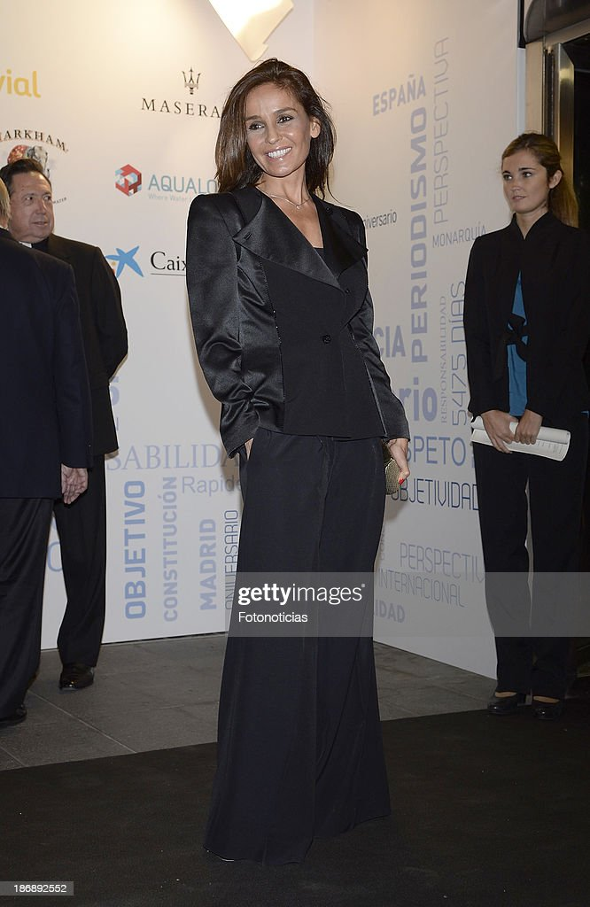 Blanca Marsillach attends 'La Razon' newspaper 15th anniversary party on November 4, 2013 in Madrid, Spain.