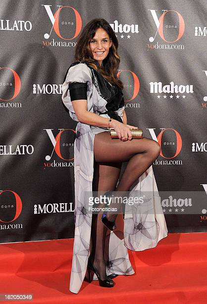 Blanca Marsillach attends 'Yo Dona' magazine mask party at the Casino de Madrid on February 18 2013 in Madrid Spain