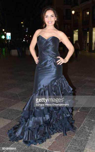 Blanca Marsillach is seen arriving at Fotogramas Awards 2018 on February 26 2018 in Madrid Spain