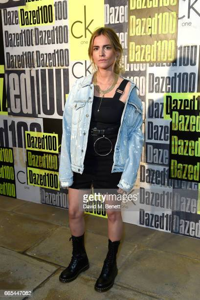 Blanca Miro attends as Dazed ck one celebrate the launch of The Dazed100 on April 6 2017 in London England