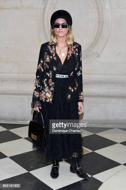 Blanca Miro attends the Christian Dior show as part of the Paris Fashion Week Womenswear Spring/Summer 2018 on September 26 2017 in Paris France