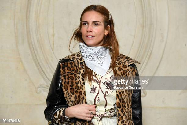 Blanca Miro attends the Christian Dior show as part of the Paris Fashion Week Womenswear Fall/Winter 2018/2019 on February 27 2018 in Paris France