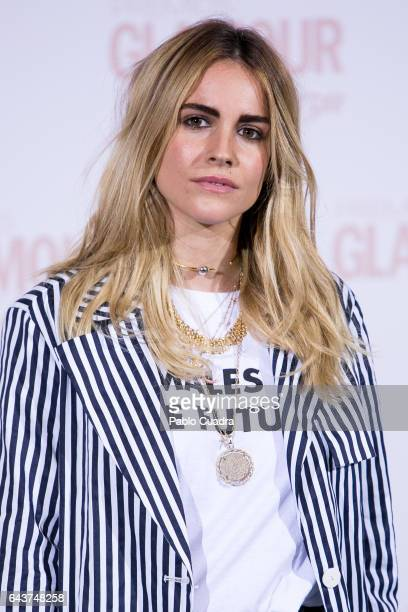 Blanca Miro attends the 'Glamour' Beauty Awards photocall at Ritz Hotel on February 22 2017 in Madrid Spain