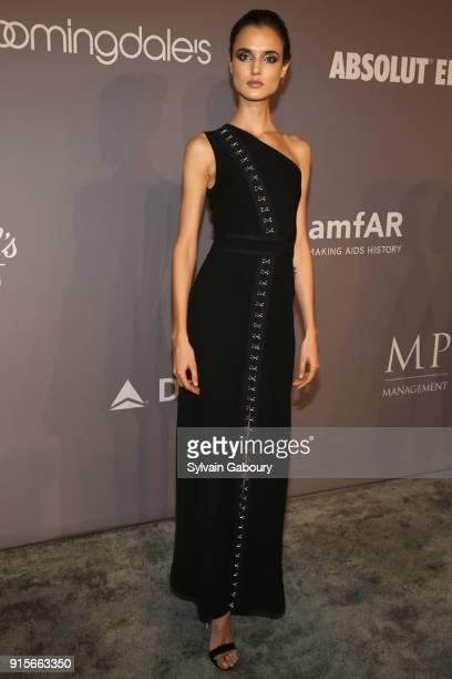 2c3b73ec21 Blanca Padilla attends 2018 amfAR Gala New York Arrivals at Cipriani Wall  Street on February 7