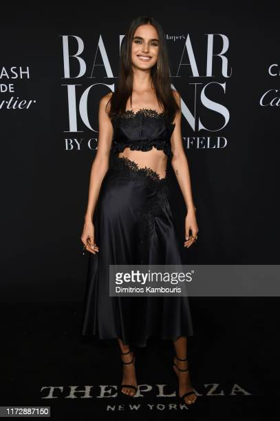 Blanca Padilla attends as Harper's BAZAAR celebrates ICONS By Carine Roitfeld at The Plaza Hotel presented by Cartier Arrivals on September 06 2019...