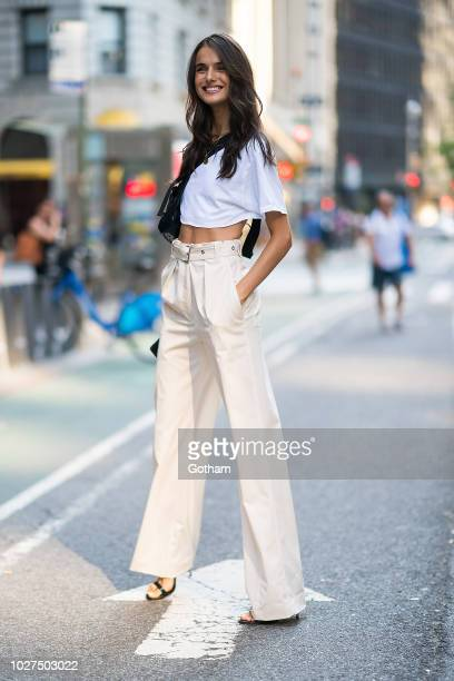 Blanca Padilla attends casting for the 2018 Victoria's Secret Fashion Show in Midtown on September 5 2018 in New York City