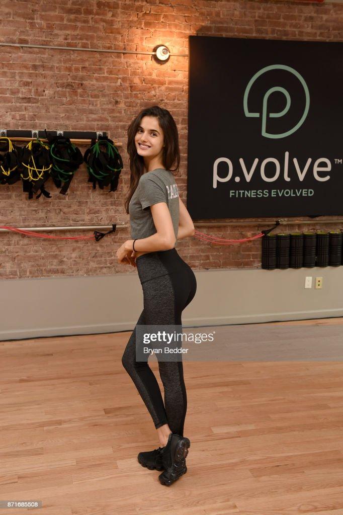 P.volve Launch With Celeb Trainer Stephen Pasterino & Victoria Secret Angel Blanca Padilla