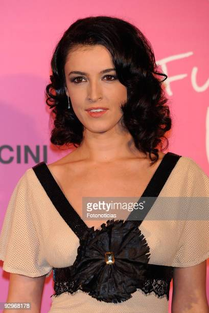 Blanca Romero arrives to the Fun Fearless Female Cosmopolitan Awards 2009 ceremony held at the Ritz Hotel on November 10 2009 in Madrid Spain