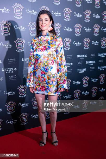 Blanca Romero attends Flower Power Party on May 02 2019 in Barcelona Spain