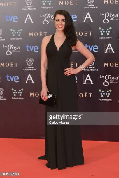 Blanca Romero attends Goya Cinema Awards 2014 at Centro de Congresos Principe Felipe on February 9 2014 in Madrid Spain