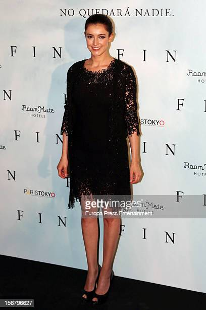Blanca Romero attends the 'Fin' photocall on November 20 2012 in Madrid Spain
