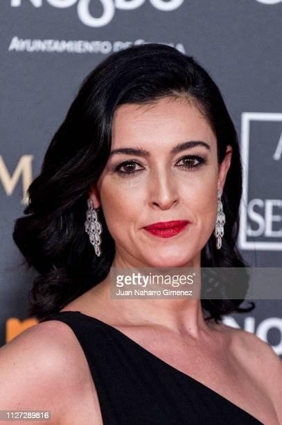 Blanca Romero attends the Goya Cinema Awards 2019 during the 33rd edition of the Goya Cinema Awards at Palacio de Congresos y Exposiciones FIBES on...