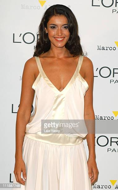 Blanca Romero during Natalie Imbruglia Hosts L'Oreal Party to Celebrate Pasarela Cibeles Fashion Week at Museo del Traje in Madrid Spain