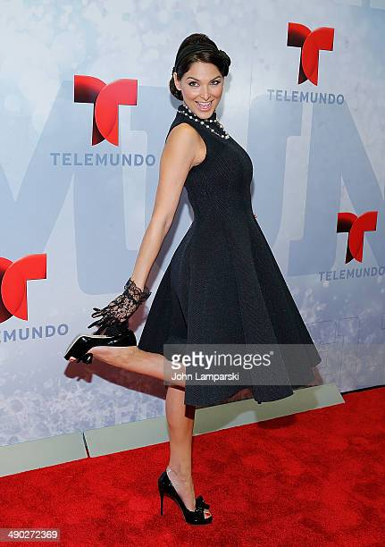 Blanca Soto attends the 2014 Telemundo Upfront at Frederick P Rose Hall Jazz at Lincoln Center on May 13 2014 in New York City