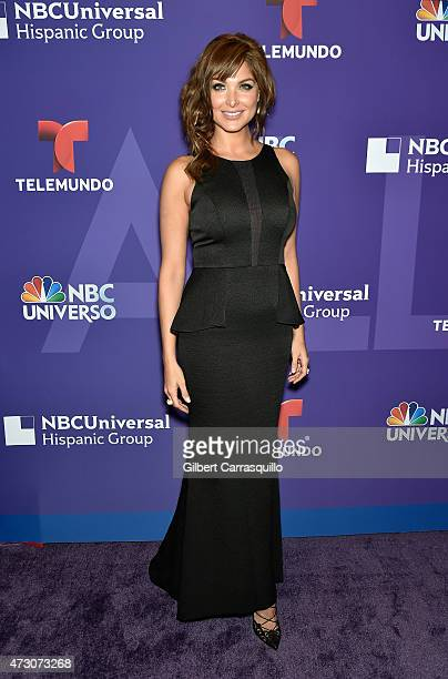Blanca Soto attends the 2015 Telemundo And NBC Universo Upfront at Frederick P Rose Hall Jazz at Lincoln Center on May 12 2015 in New York City