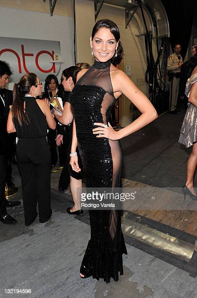 Blanca Soto poses backstage at the 12th Annual Latin GRAMMY Awards held at the Mandalay Bay Events Center on November 10 2011 in Las Vegas Nevada