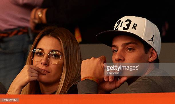 Blanca Suarez and Joel Bosqued attend the Madrid Horse Week 2016 at IFEMA on November 26 2016 in Madrid Spain
