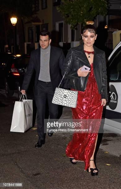 Blanca Suarez and Mario Casas attend the Blanca Suarez's 30th birthday party on October 27 2018 in Madrid Spain