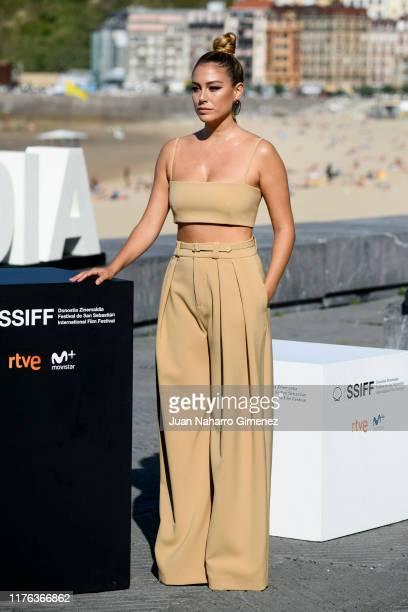 Blanca Suarez attends 'El verano Que Vivimos' photocall during 67th San Sebastian Film Festival on September 22 2019 in San Sebastian Spain
