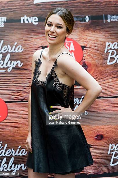 Blanca Suarez attends 'Mi Panaderia en Brooklyn' at Hospes Hotel on June 28 2016 in Madrid Spain
