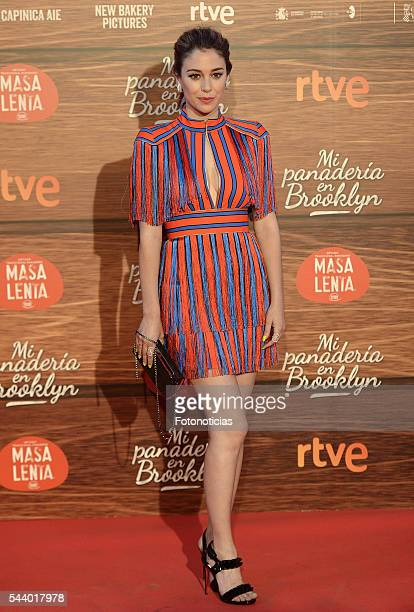 Blanca Suarez attends the 'Mi Panaderia de Brooklyn' premiere at Capitol cinema on June 30 2016 in Madrid Spain