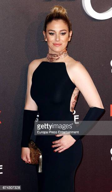 Blanca Suarez attends the premiere of Netflix's 'Las Chicas del Cable' on April 27 2017 in Madrid Spain