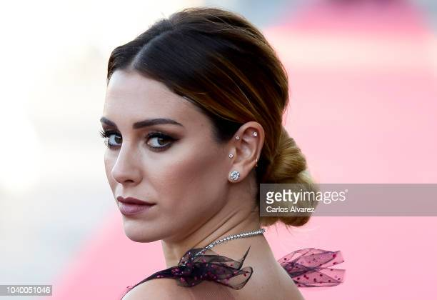Blanca Suarez attends the 'Tiempo Despues' premiere during the 66th San Sebastian International Film Festival on September 25 2018 in San Sebastian...