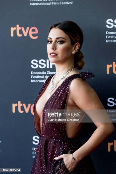 Blanca Suarez attends the 'Tiempo Despues' premiere during the 66th San Sebastian International Film Festival on September 25 2018 in San Sebastian...
