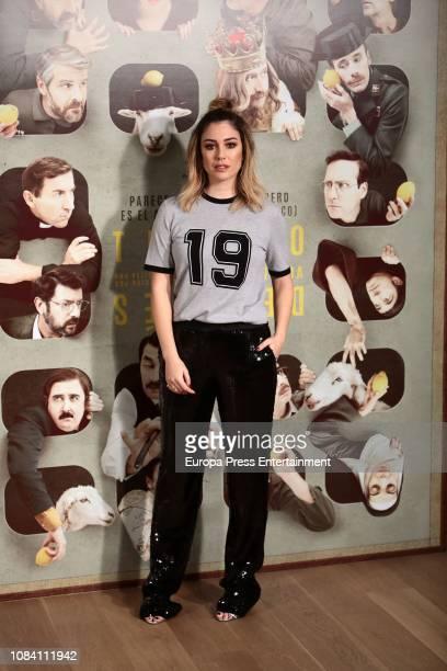 Blanca Suarez attends 'Tiempo Despues' photocall at Urso Hotel on December 18 2018 in Madrid Spain