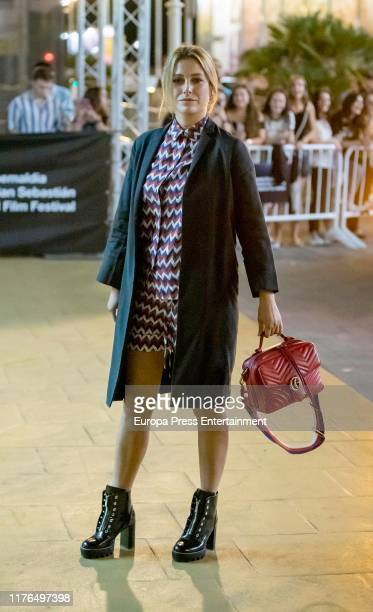 Blanca Suarez is seen arriving at 67th San Sebastian Film Festival on September 21 2019 in San Sebastian Spain
