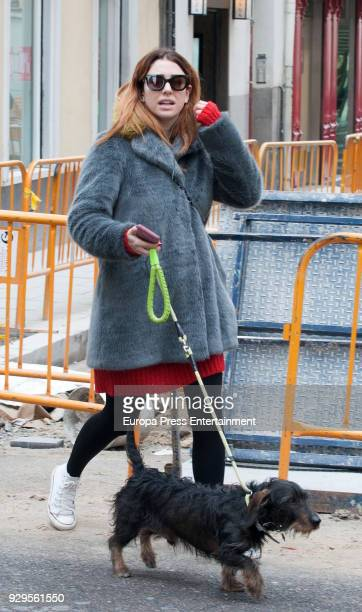Blanca Suarez is seen on March 8 2018 in Madrid Spain