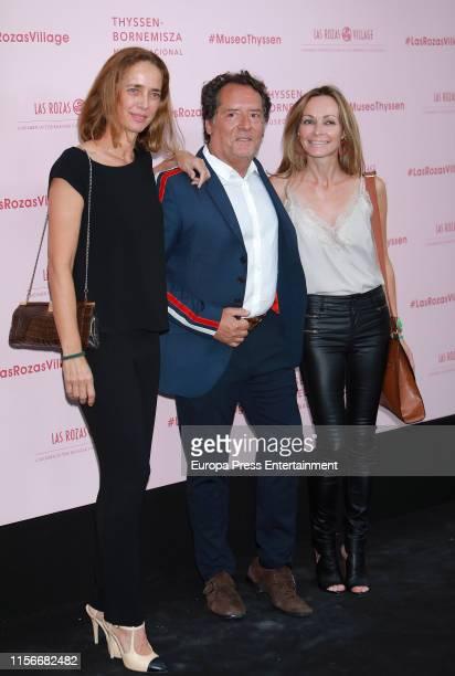 Blanca Suelves and Sharon Corrs attend 'Balenciaga Y La Pintura Española' exhibition opening on June 17 2019 in Madrid Spain