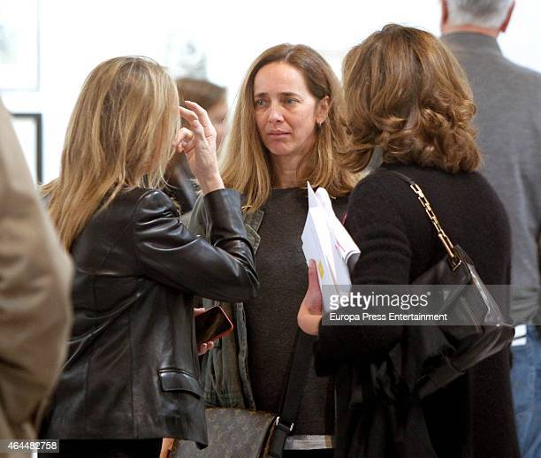 Blanca Suelves attends ARCO 2015 International Contemporary Art Fair at Ifema on February 25 2015 in Madrid Spain