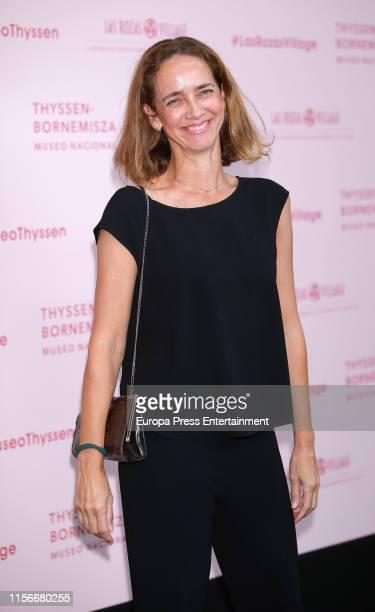 Blanca Suelves attends 'Balenciaga Y La Pintura Española' exhibition opening on June 17 2019 in Madrid Spain