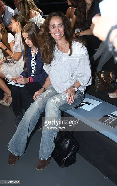 Blanca Suelves attends Cibeles Madrid Fashion Week S/S 2011 at Ifema on September 19 2010 in Madrid Spain