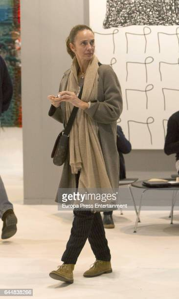 Blanca Suelves attends the International Contemporary Art Fair ARCO 2017 at Ifema on February 23 2017 in Madrid Spain