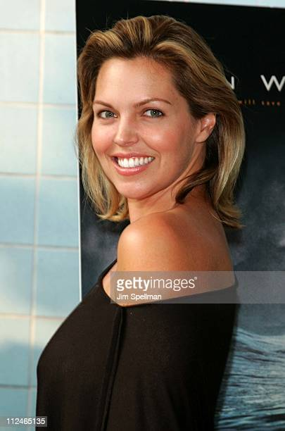 Blanchard Ryan during Open Water Special Screening Hosted by Lions Gate Films Outside Arrivals at Clearview Chelsea West in New York City New York...