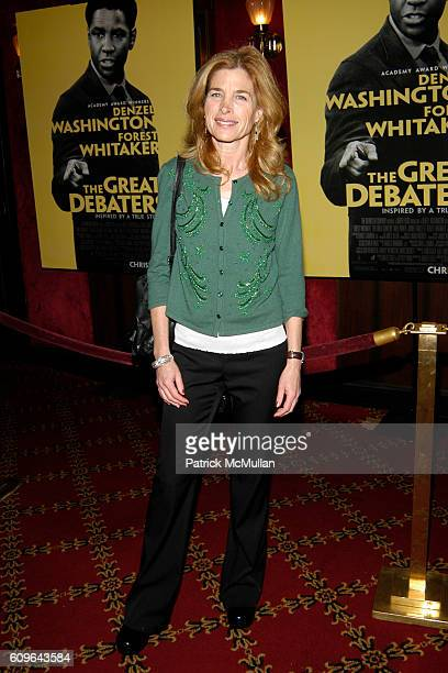 Blanche Baker attends The Great Debaters with Denzel Washington and Forest Whitaker Premiere at The Ziegfeld Theater on December 19 2007 in New York...