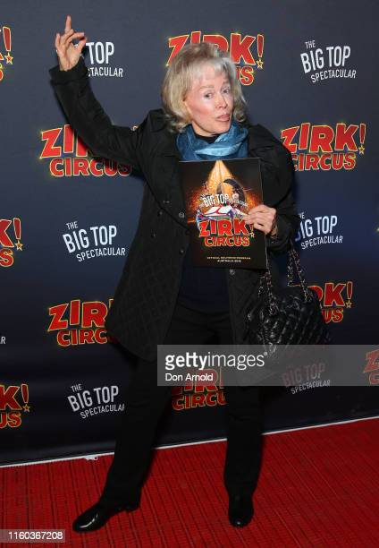 Blanche d'Alpuget attends ZIRK Circus Sydney Opening Night on July 06 2019 in Sydney Australia