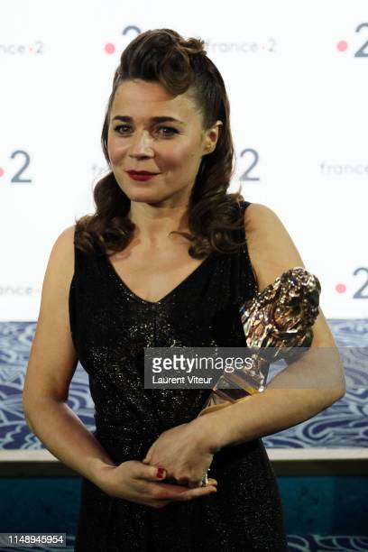 Blanche Gardin attends 31 eme Nuit des Molieres at Theatre de Folies Bergeres on May 13 2019 in Paris France