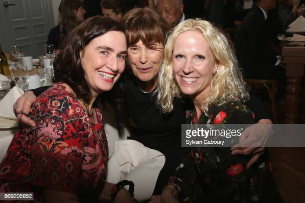 Blanche Johnson Gretchen Buchenholz and Amie Nuttall attend ABC's Fifteenth Annual Thanks for Giving Benefit on November 1 2017 in New York City