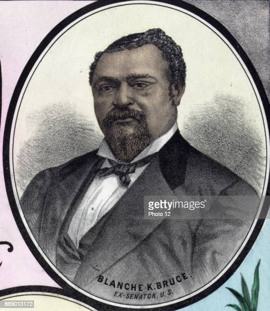 Blanche Kelso Bruce was a US politician who represented Mississippi as a Republican in the US Senate from 1875 to 1881