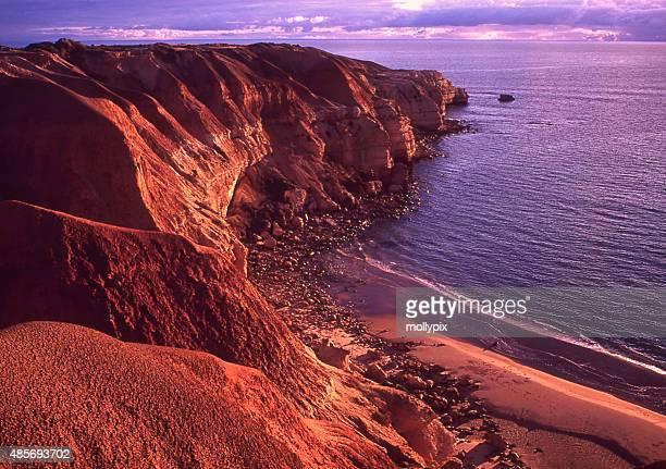 Blanche Point Maslin plage dans le sud de l'Australie