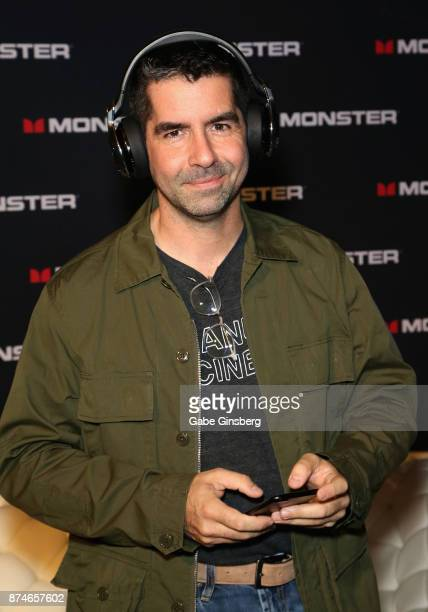 BlancoLorenz President Chief Creative Officer Pedro Blanco attends the gift lounge during the 18th annual Latin Grammy Awards at MGM Grand Garden...