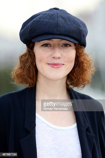 Blandine Bellavoir attends a Photocall as part of the 17th Festival of TV Fiction of La Rochelle on September 12, 2015 in La Rochelle, France.