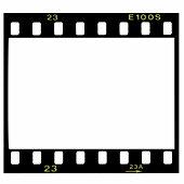 Blank 35mm film frame