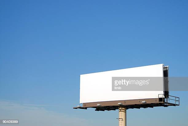 blank billboard 3 - two lane highway stock pictures, royalty-free photos & images