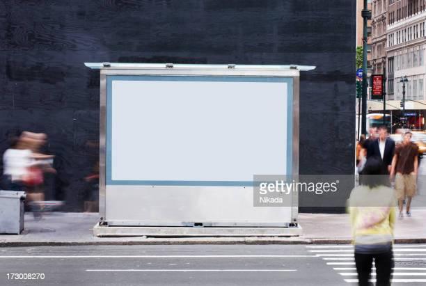 空の看板-ニューヨーク