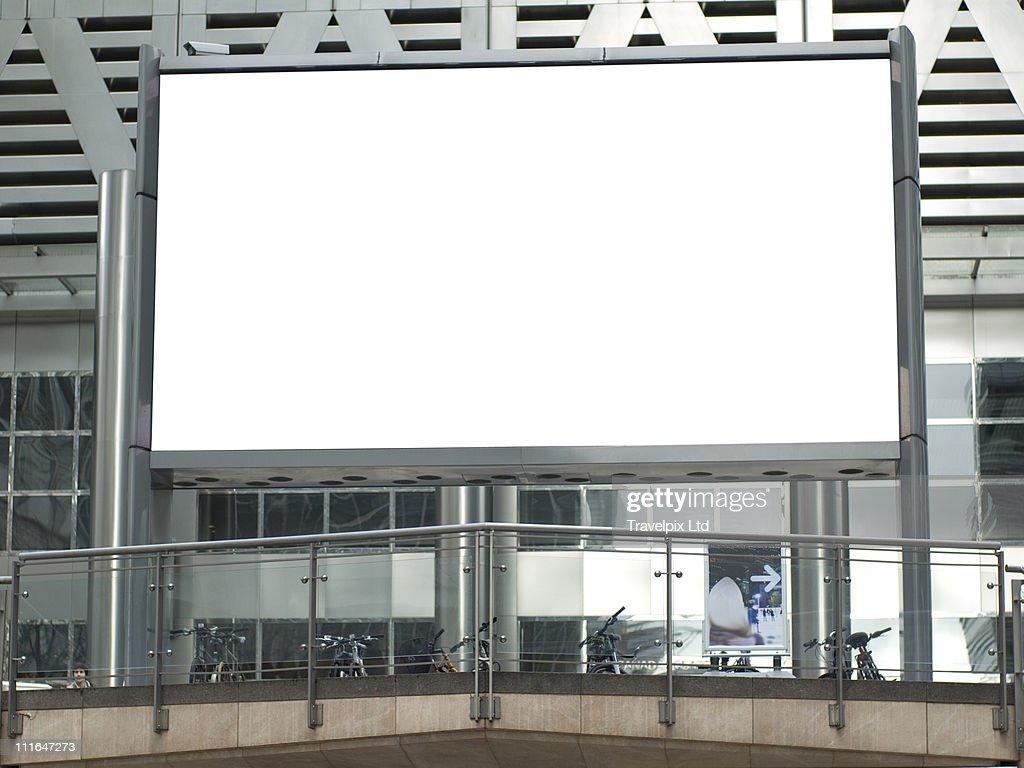 Blank Billboard : Bildbanksbilder